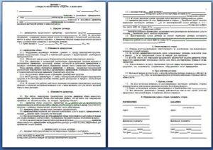 Договор аренды транспортного средства без экипажа, с физическим лицом