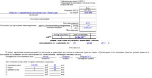 Акт ревизии кассы образец бланк