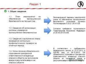 План мероприятий по обеспечению промышленной безопасности образец бланк