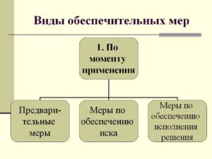 Обеспечительные меры в гражданском процессе