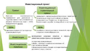 Инвестиционный проект образец бланк