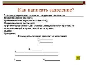 Как правильно написать заявление образцы и бланки