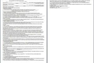 Договор целевого займа образец бланк