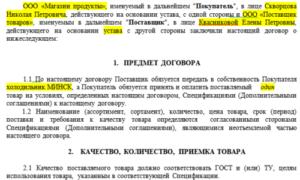 Договор поставки программного обеспечения образец бланк