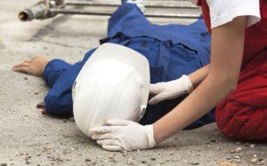Смерть работника на рабочем месте