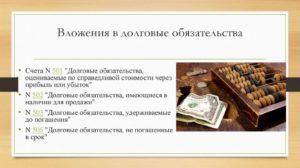 Продажа долговых обязательств