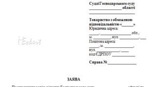 Заявление в суд о выдаче копии решения суда