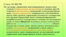 Типовой договор управления многоквартирным домом образец бланк